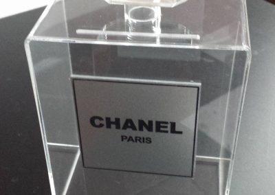 caja sobre chanel