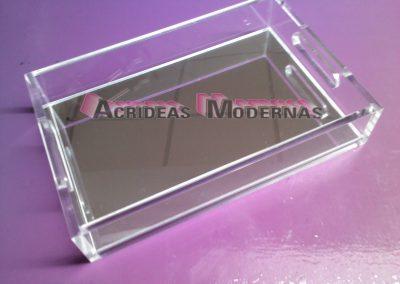 charola espejo 18x28 cm
