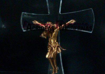 cruz acrilico 1 pulgada