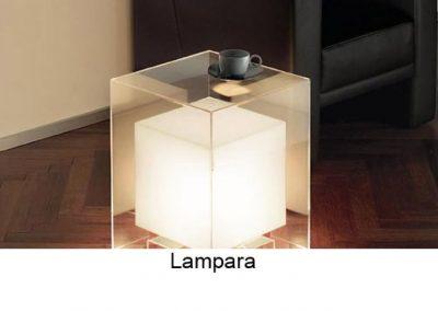 mesa lampara