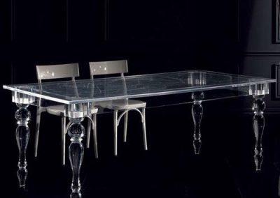 mesa patas torneadas